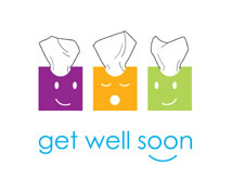 Tissue Wishes Get Well  Cards